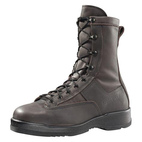 belleville usn flight approved all leather steel toe