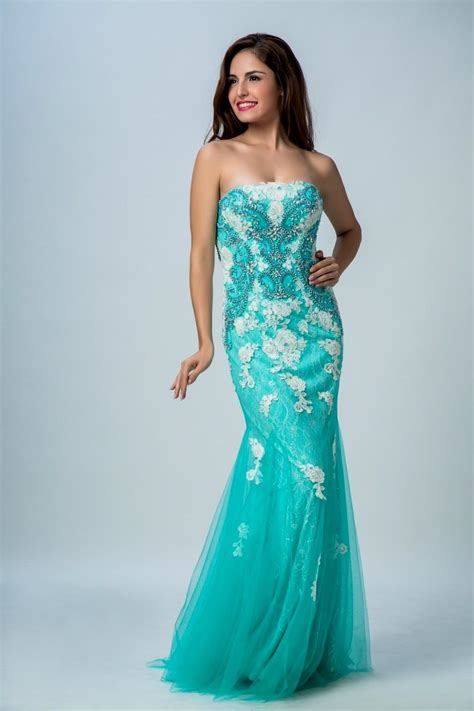 turquoise mermaid prom dress great ideas for fashion