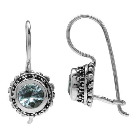 925 sterling silver gemstone balinese inspired closure