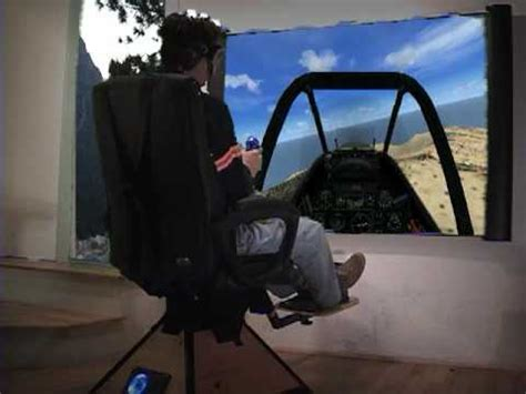 moving flight simulator chair motion simulation chair on fsx helicopter airplane and