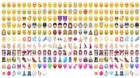 imagenes de todos los emoji la utilizaci 243 n del emoji 191 va en detrimento del lenguaje