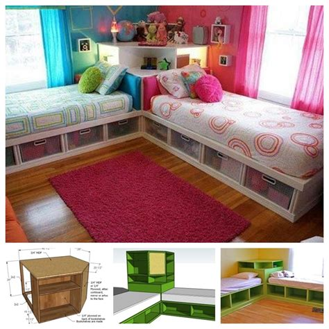 do it on my twin bed space saving twin bed corner unit guide and tutorial