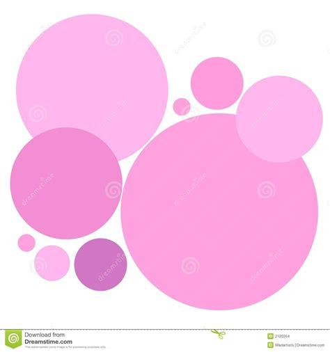 pattern circle pink simple pink circles pattern stock illustration