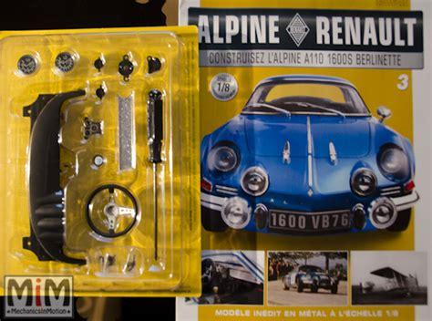 →Alpine Renault A110 au 1/8 ème