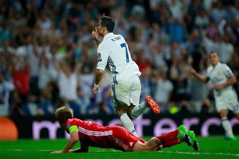ronaldo juventus bayern munich cristiano ronaldo was clearly offside for et goal vs bayern munich