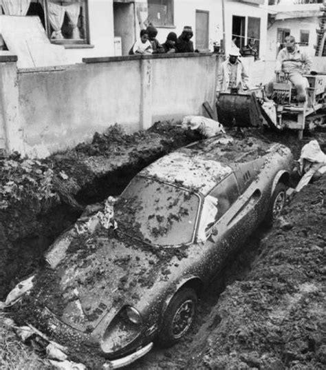 buried in your backyard 1974 ferrari buried in a back yard in california