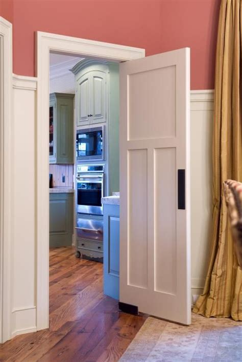 swinging shaker style laundry door ts trustile