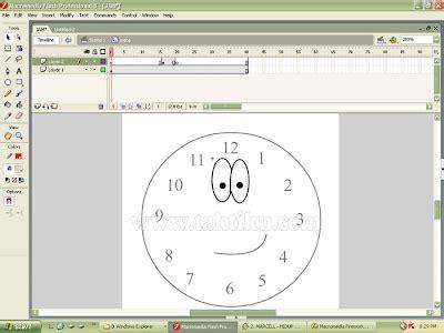 tutorial delphi membuat jam analog cara membuat jam analog dengan flash 8 tutorial desain