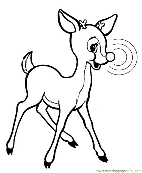 coloring pages deer rudolph coloring pages reindeer animals gt deer free printable