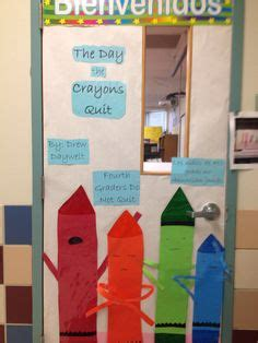 libro the day the crayons the day the crayons quit bulletin boards crayons bulletin board and