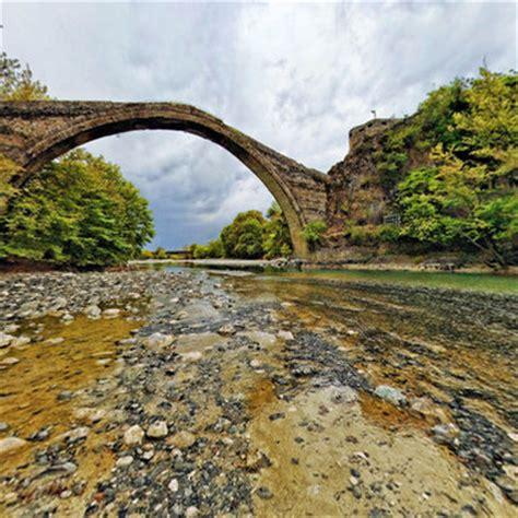 konitsa old bridge greece