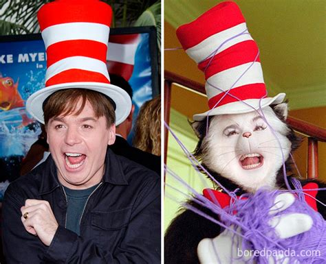 mike myers ig 50 actors before after movie makeup that will make you