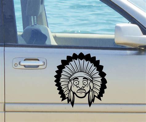 Auto Aufkleber Lustig by Autoaufkleber Indianer Amerika Western Lustig Bild