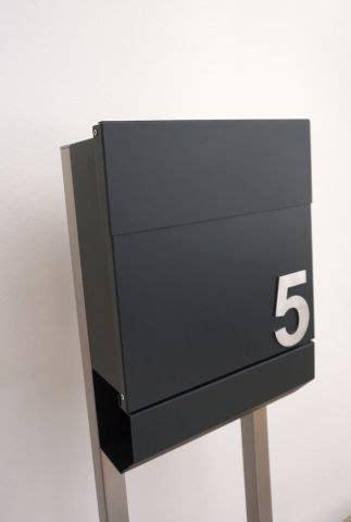 Briefkasten Anthrazit Freistehend by Briefkasten Anthrazit Freistehend Einzelbriefkasten Syma