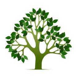 Tree Outline Green by Tree Of Clip Cliparts Co