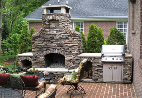 Outdoor Fireplace And Grill Designs by Top 21 Designs For The Outdoor Fireplace Qnud