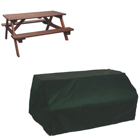 picnic bench cover picnic table cover 8 seat pvc backed polyester