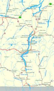 map of the okanagan valley