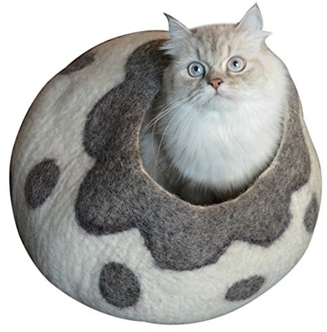 best cat beds best cat cave bed unique handmade natural felted merino