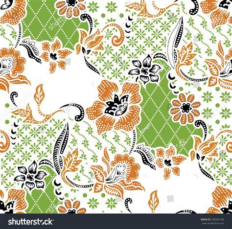 design batik vector vector backgroundbatik design stock vector 230205196