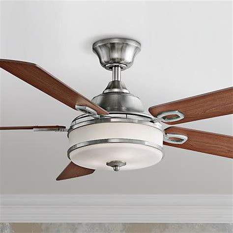 Plus Ceiling Fans 52 Quot Fanimation Stafford Brushed Nickel Ceiling Fan