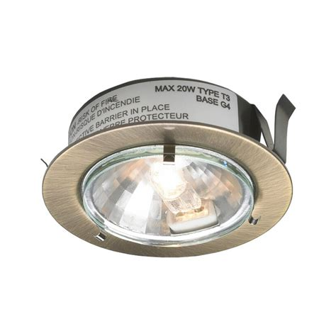 Dals Lighting Low Voltage Halogen Metal Puck Under Cabinet Halogen Cabinet Lighting