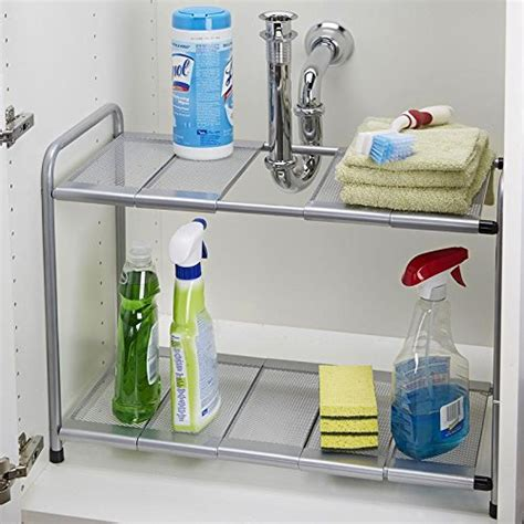 2 tier the sink shelf funky buys 2 tier adjustable expandable si k1004