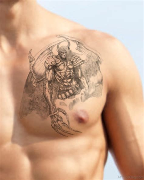 angel chest tattoo 86 graceful tattoos for chest