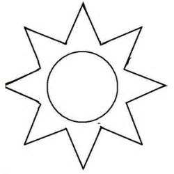 template of the sun sun template clipart best