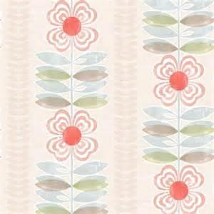 modern floral wallpaper avril modern floral stripe modern wallpaper