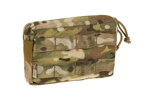 Zipped Pouch small horizontal molle pouch zipped multicam warrior