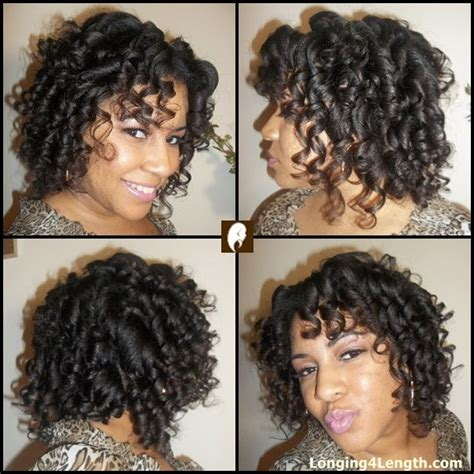 hairstyles for short relaxed hair without heat roller setting relaxed hair flexi rod set long lasting