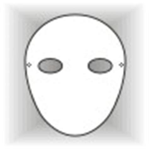 Plain Face Masks Design Your Own Mask Templates Mask Template