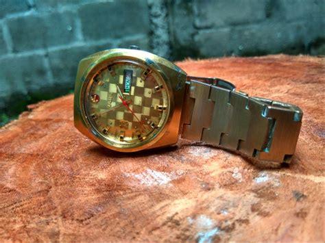 jual jam tangan bekas original rado  golden horse