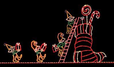 Waterfall Decoration For Homes decorating with rope lights my merry christmas