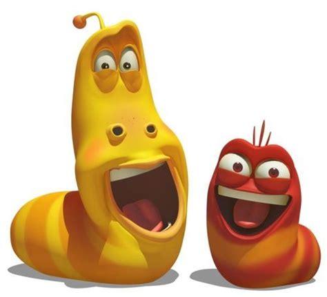 asal film larva karakter kartun dan animasi lu kecil