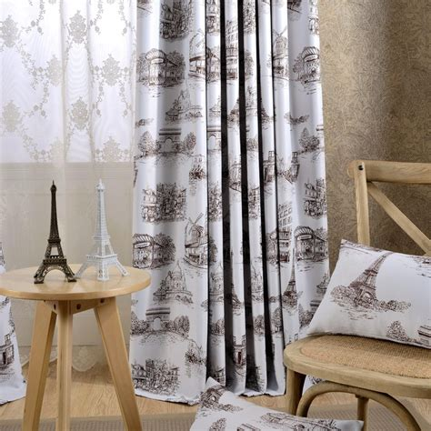 american nordic curtains living dining room bedroom high precision printing blackout curtain fabric curtains home garden