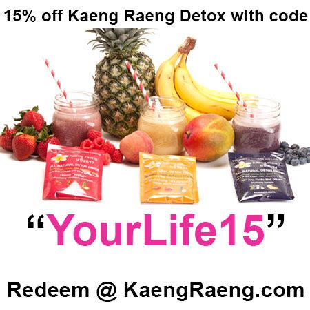 Kaeng Raeng Detox Cleanse by Get Summer Fit And Ready With The Kaeng Raeng Detox
