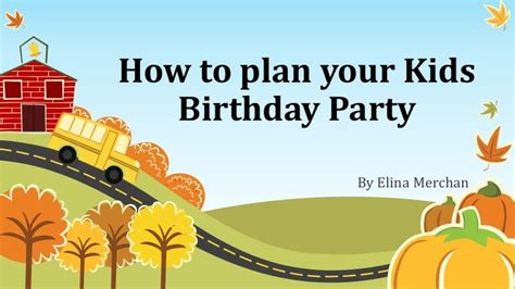 how to plan your kids birthday party indiancatering