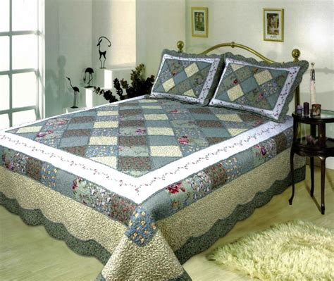 Superking Quilts decor al591g sk ahsley handmade quilt with striking white border king size at