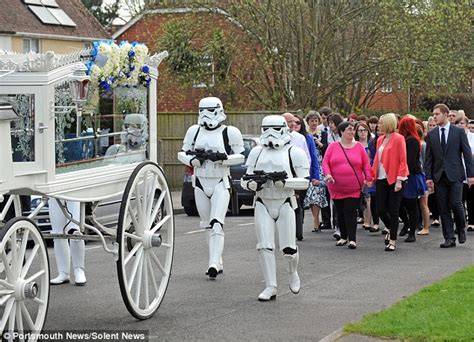 wars themed funeral for robinson 4 who died