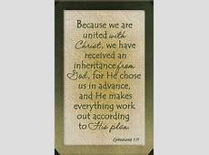 Ephesians 1:11 | Bible verses | Pinterest Ephesians 1:11