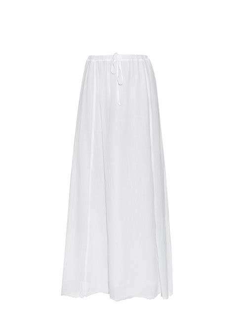 velvet by graham spencer cotton gauze maxi skirt in