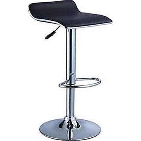 Bar Stool Black Chrome by Bar And Room 26 Quot 34 25 Quot Adjustable Bar Stool In Black