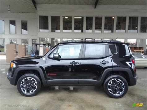 jeep renegade black 2017 black jeep renegade trailhawk 4x4 117391329