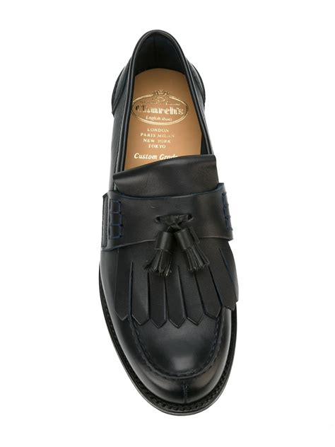 church loafers church s church s oreham loafers in black for lyst