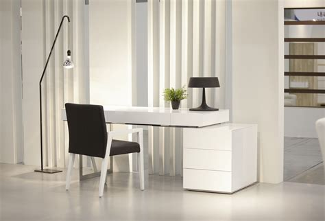 contemporary white desk white contemporary office desk with storage oakland