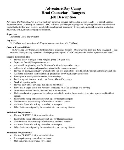 counselor description for resume c counselor description for resume