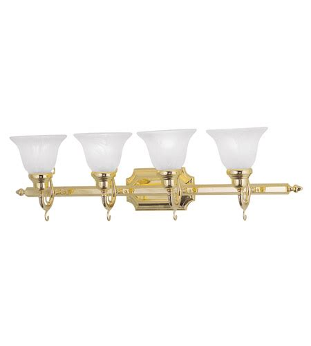 livex lighting french regency polished brass three light livex lighting french regency 4 light bath light in