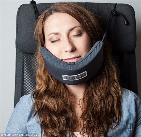 Pillow To Keep Neck by Is This The Nodpod The Travel Pillow Daily Mail
